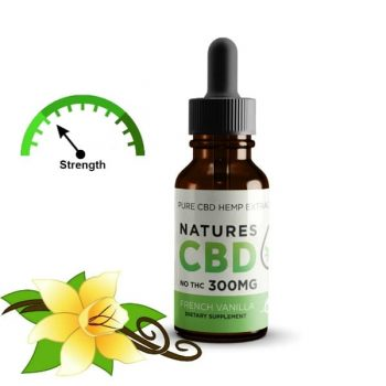 cbd oil 300mg vanilla