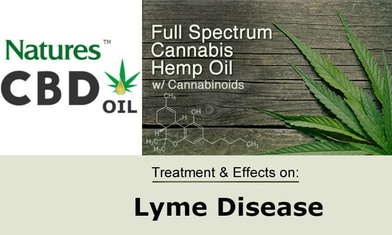 Natures CBD Oil works for Lyme Disease