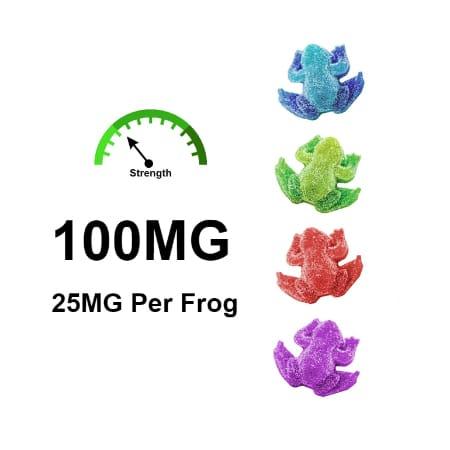 cbd frogs cbd 25mg per a frog