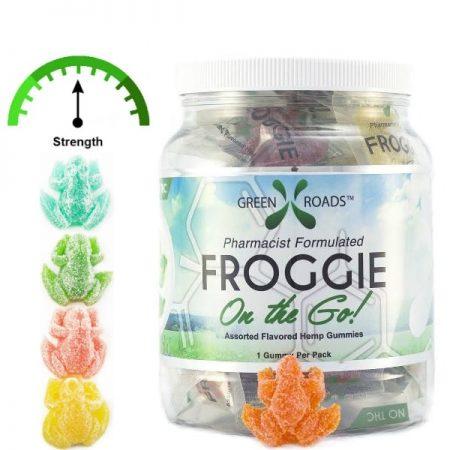 Green Roads CBD Froggies Jar of 30