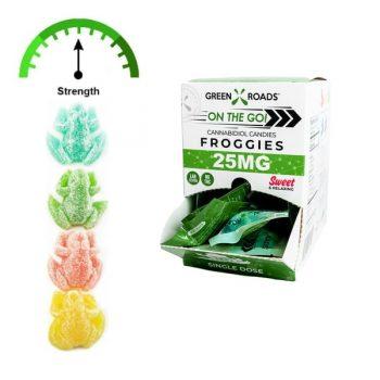 cbd frogs 25mgs box