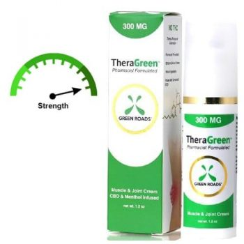 strongest cbd pain cream